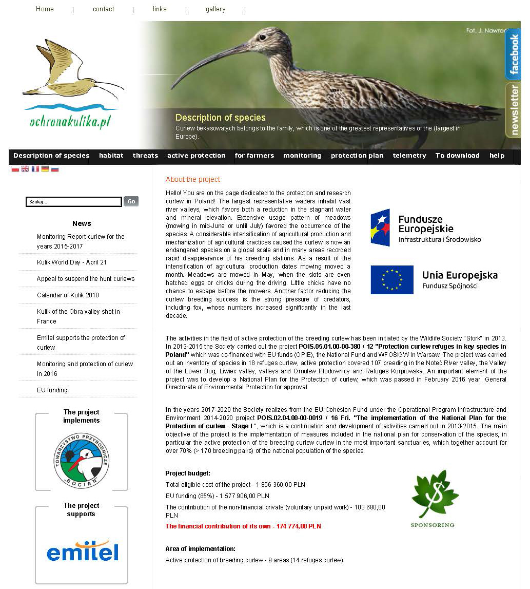 Polish project to conserve meadow breeding Curlews – Call of the Curlew